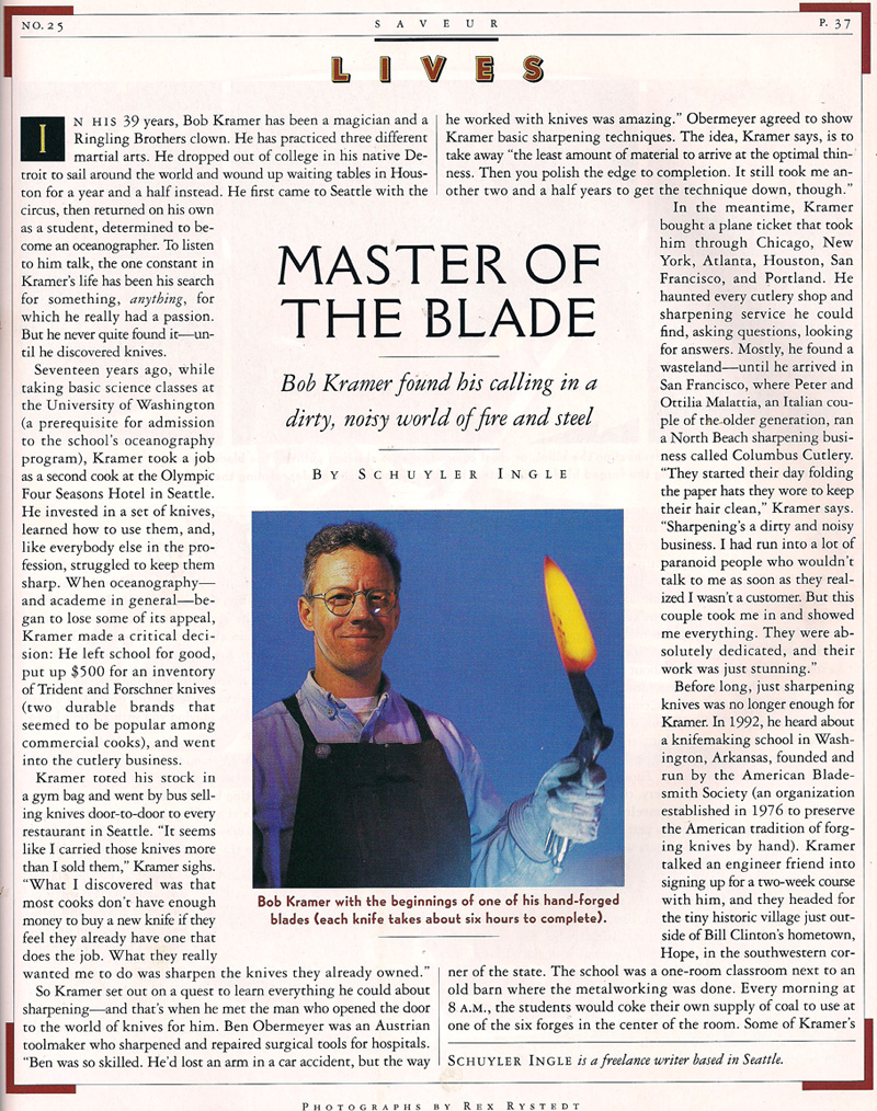 Saveur March 1998