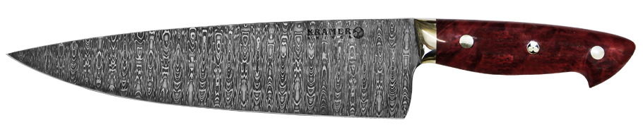 Bob Kramer Knives Finished Damascus Steel Knife