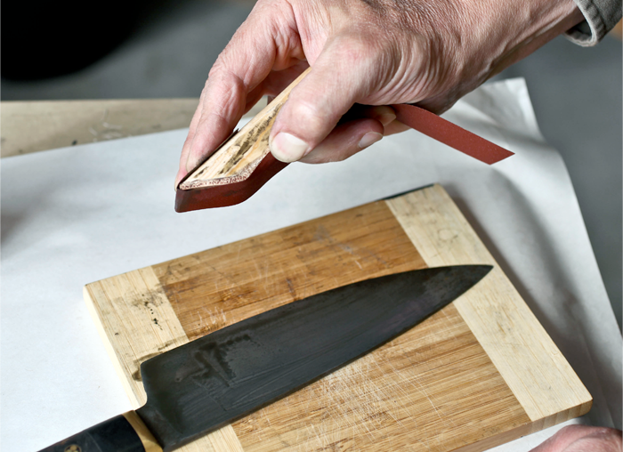 Kramer Knives | Step 2 : Care Polish Kit | Kit Supplies