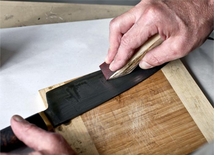 Kramer Knives | Step 3 : Care Polish Kit | Kit Supplies
