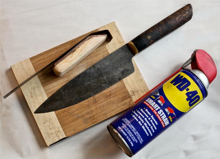Kramer Knives | Step 1: Care Polish Kit | Kit Supplies