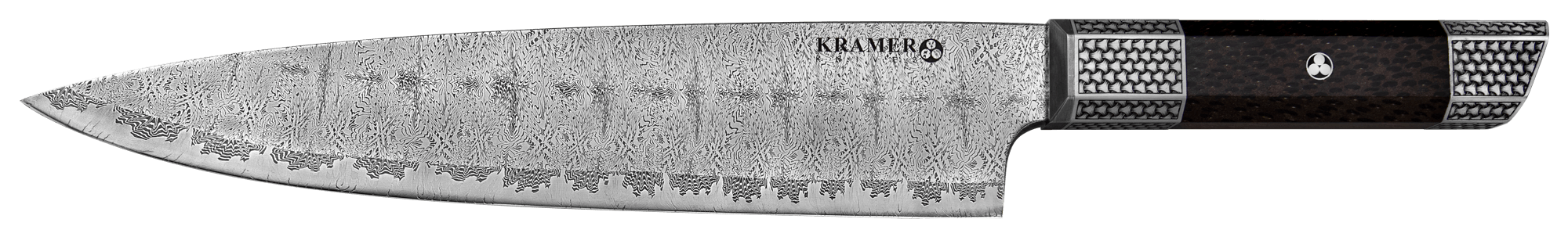 10″ Pulsar Mosaic Damascus Chef's Knife | Kramer Knives